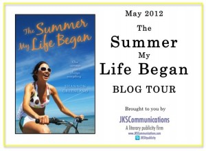 The Summer My Life Began Blog Tour